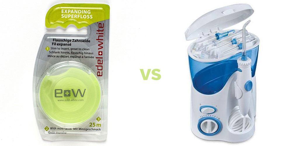 Ata dentara sau irigator oral? Care este mai bun?
