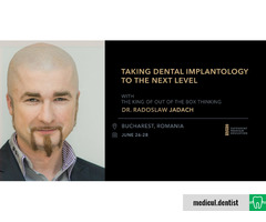 Taking dental implantology to the next level by Radoslaw Jadach