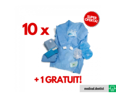 KIT CHIRURGICAL (13 PIESE) 10buc + 1buc Gratuit